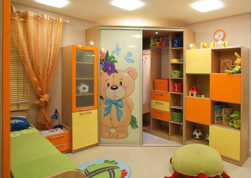Шкафы купе для детей