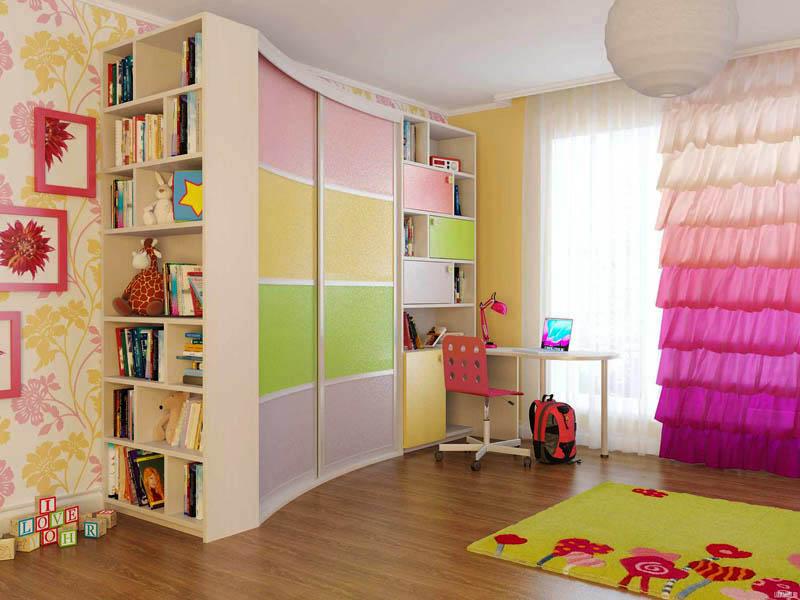 шкафы-купе фото в детскую