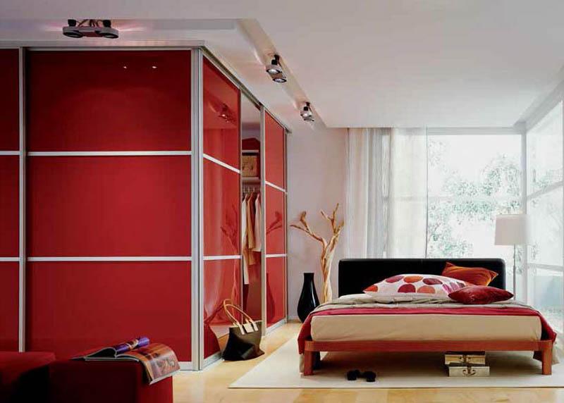 Красный цвет в интерьере фото postremont.