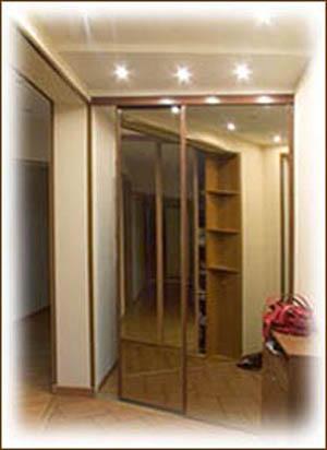 Шкаф-купе встроенный, зеркальный встроенные и корпусные шкаф.